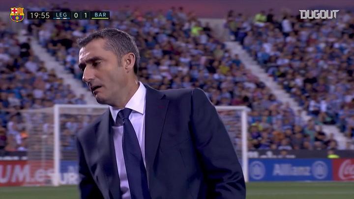 Ernesto Valverde's best moments as FC Barcelona manager