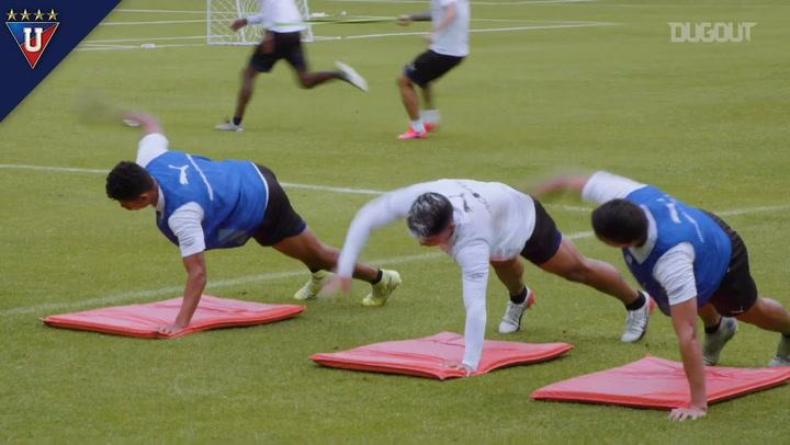 Liga de Quito prepare for the Ecuadorian Supercup