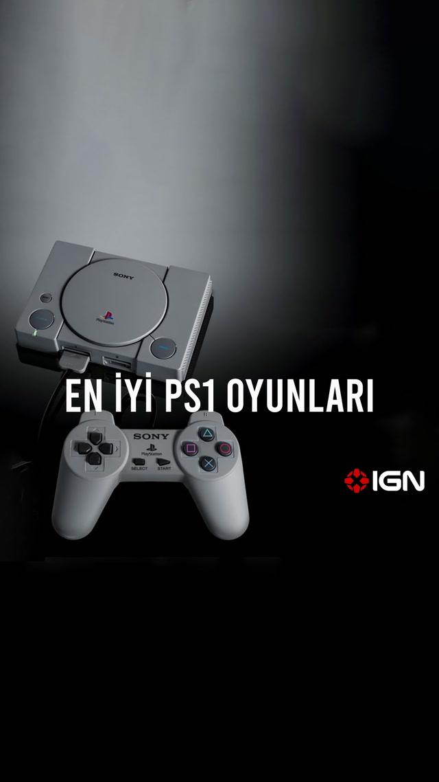 IGN - En iyi PS1 oyunları