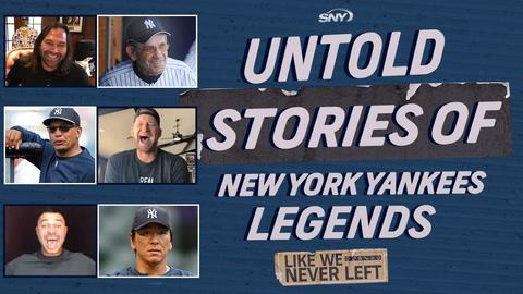 Like We Never Left: Untold stories of Yankees legends