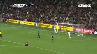 El descomunal gol de Carlos Vela con el Galaxy en la MLS