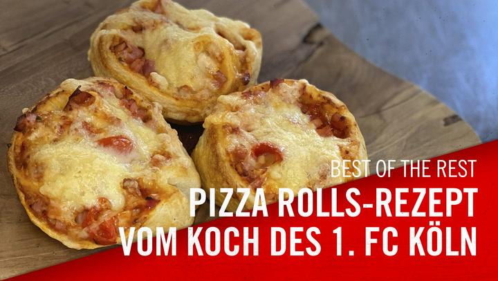 Pizza-Rolls-Rezept vom Koch des 1. FC Köln