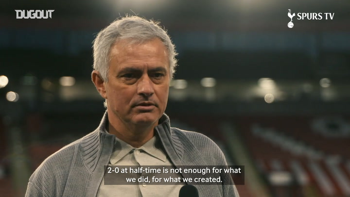 Mourinho: 'Another very good performance'