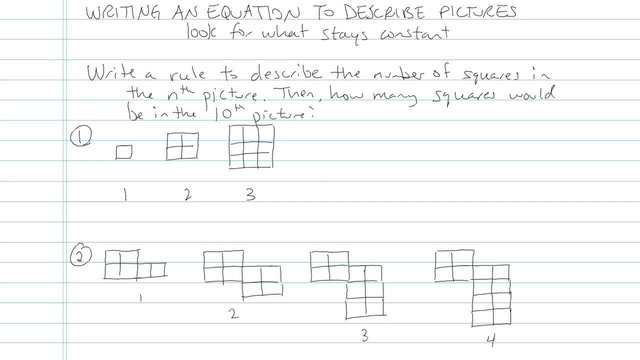 Writing an Equation to Describe Pictures - Problem 4