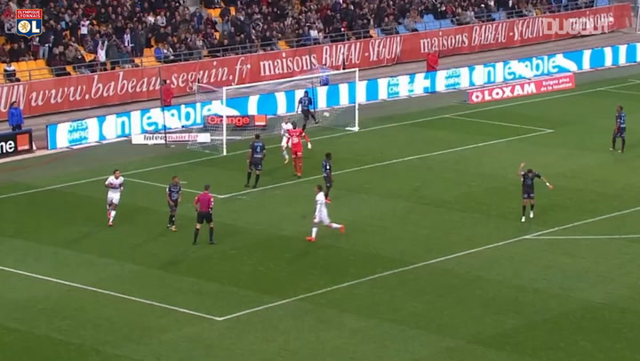 All Memphis Depay's Ligue 1 hat-tricks