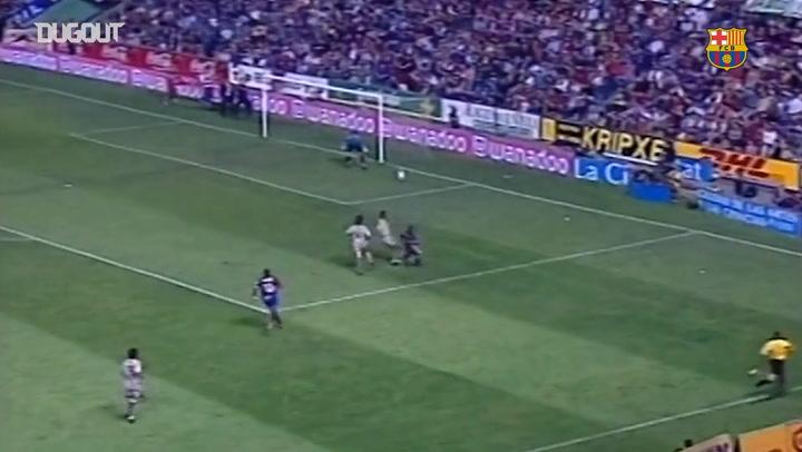 The first LaLiga title of the Frank Rijkaard era at Barcelona