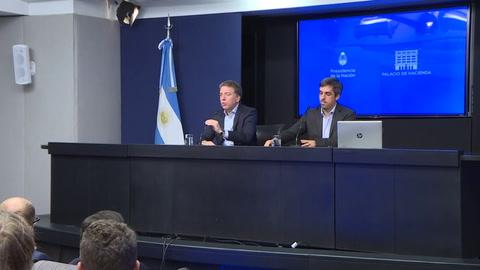 Renuncia el ministro de Hacienda de Argentina, Nicolás Dujovne