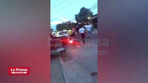 Dos muerto y un herido deja balacera en el segundo anillo de San Pedro Sula