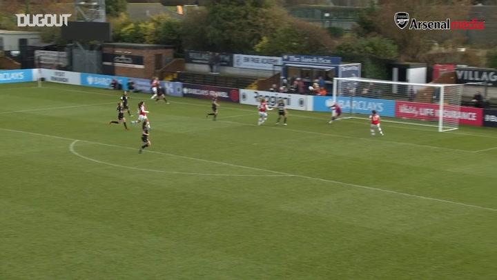 Vivianne Miedema scores six as Arsenal Women put 11 past Bristol City