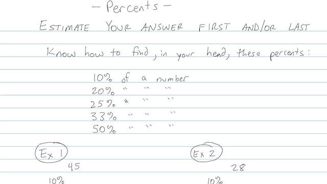 Percents - Problem 4