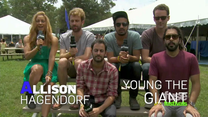 Festivals: Bonnaroo:  Young The Giant
