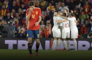 ¡Inglaterra está goleando a España en la Liga de Naciones!