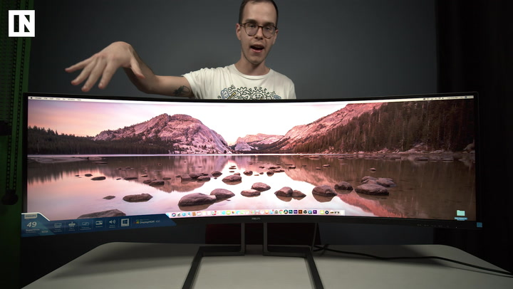 Philips Brilliance 499P9H 49-inch Monitor unboxing