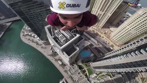 La tirolesa más larga del mundo se encuentra en Dubai