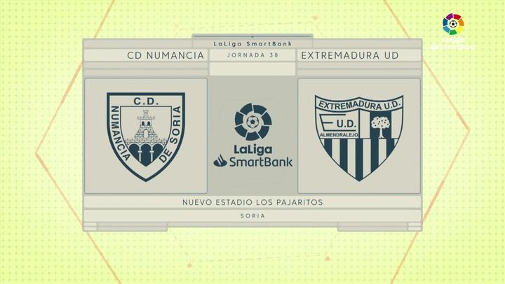 LaLiga SmartBank (J.38): Numancia 1-0 Extremadura