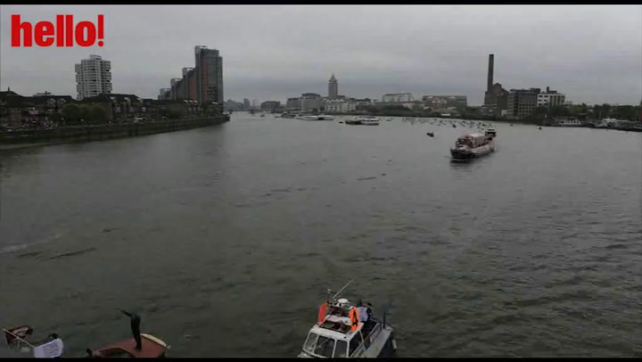 Relive the Thames Pageant in our time lapse image