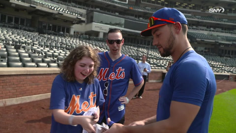 Michael Conforto provides a 'Dream Day' for Mets fan | SNY Play Ball