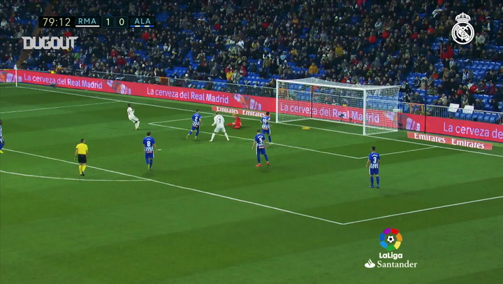 Team Goals: Vinicius Jr Vs Alavés
