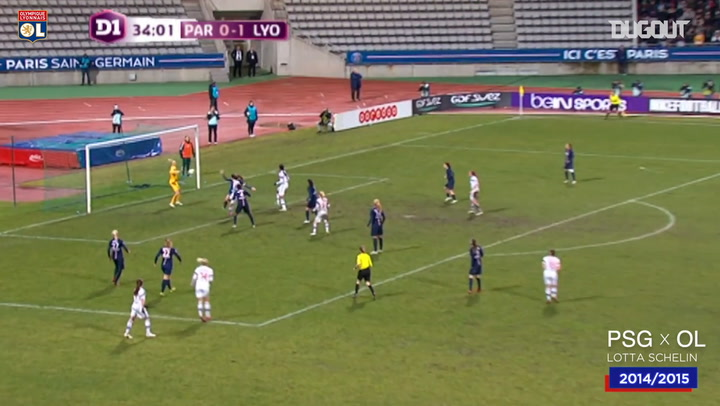 OL Women's top five goals vs PSG