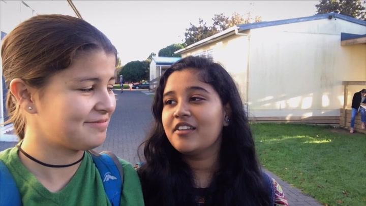 Ana Downey and Khushee Jain