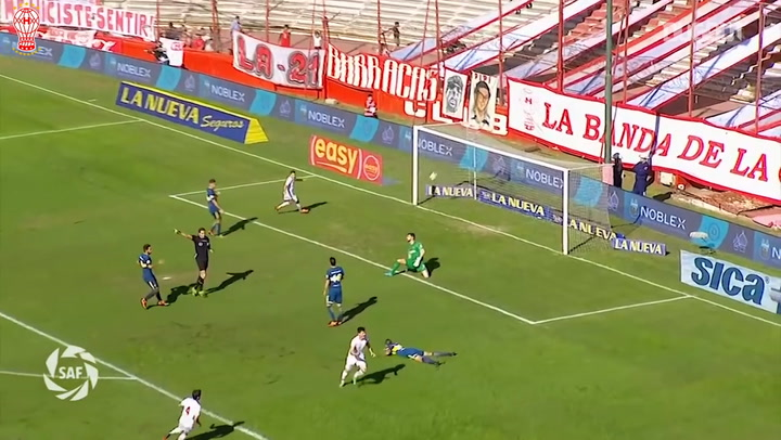 Ignacio Pussetto's goal vs Boca Juniors