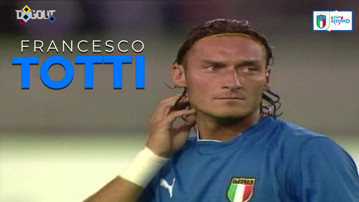 Francesco Totti's best moments for Italy