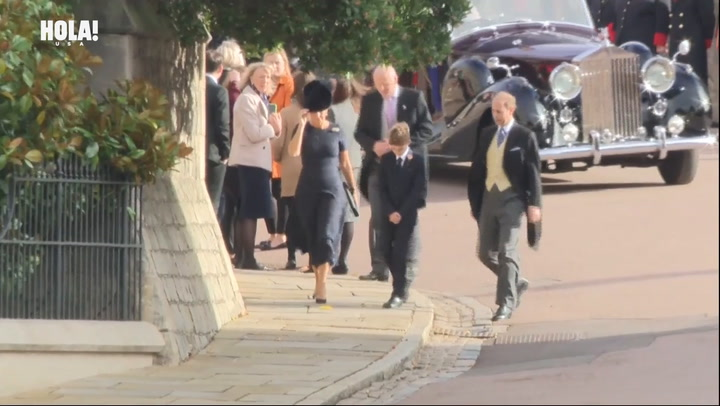 The Earl and Countess of Wessex arrive at Princess Eugenie\'s royal wedding