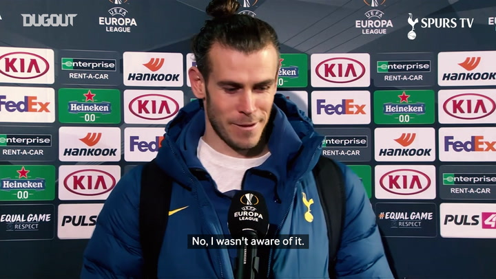 Bale happy to reach 200 goals but focussed on North London Derby