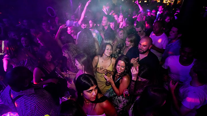 Nightclubs open their doors for first time since start of Covid
