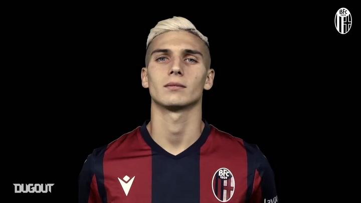 Bologna FC 1909 unveil new signing Nicolás Domínguez