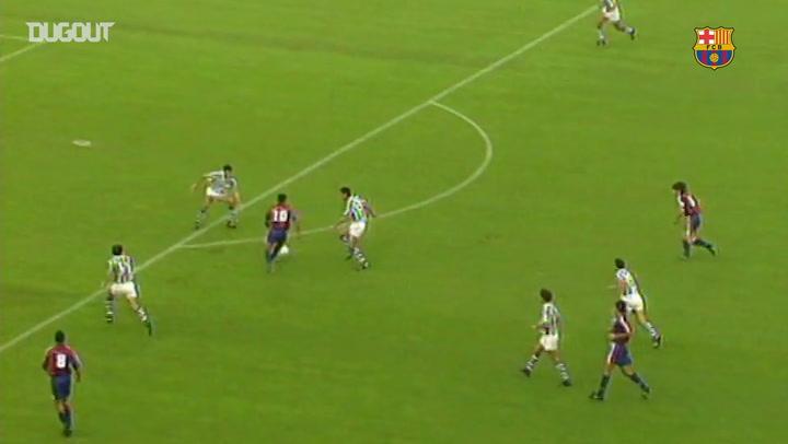 Debut Goals: Romário Vs Real Sociedad