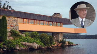 Here's Your Chance to Buy a Frank Lloyd Wright House--On Your Very Own Private Island