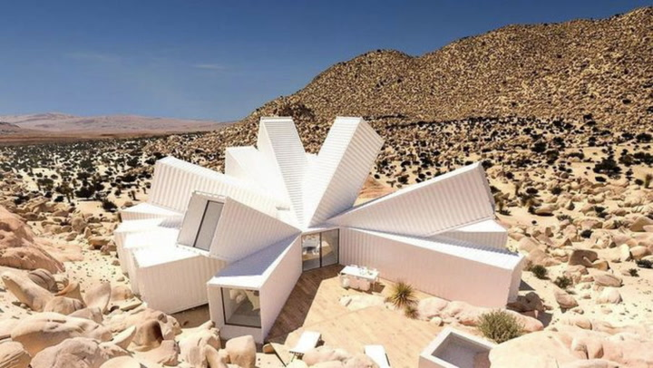 Architect's Spectacular Vision for a Desert Home Is No Mirage