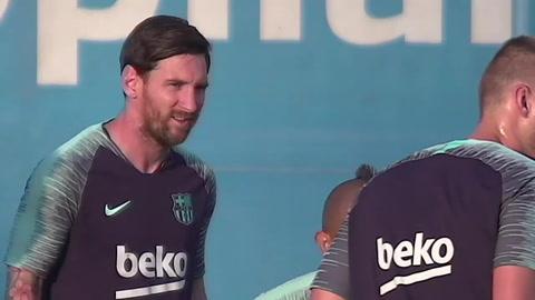 Barcelona se pone a prueba para el clásico sin Messi