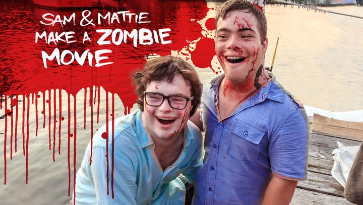 Sam and Mattie Make a Zombie Movie