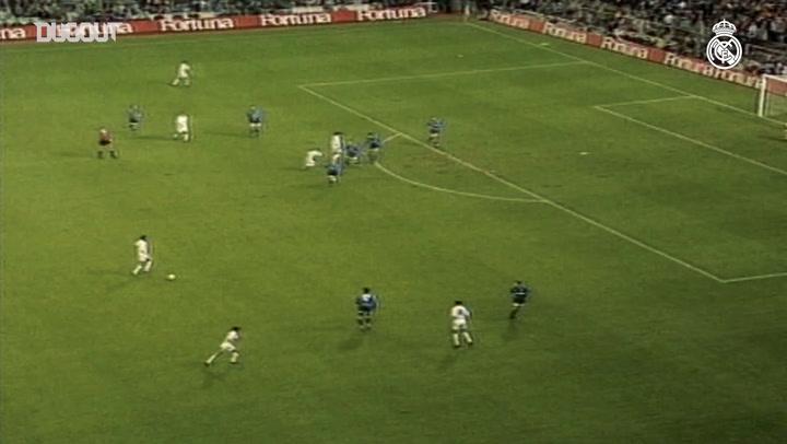 Primer gol con Real Madrid: Redondo e Isco