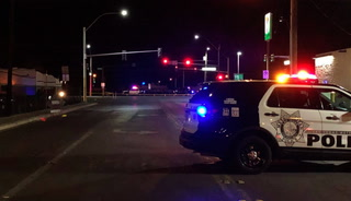 Pedestrian struck, killed in east Las Vegas – VIDEO