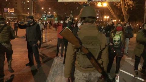 Piñera lanza plan de reactivación en Chile en medio de protestas