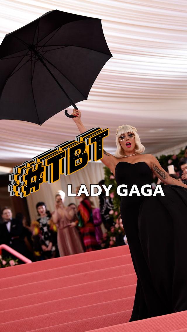 #tbt Moda - Lady Gaga