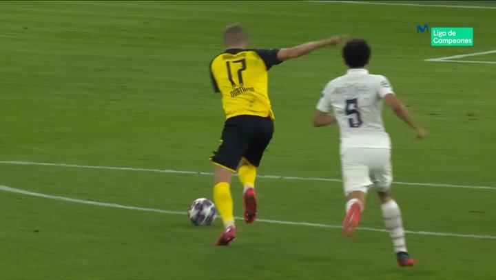 Champions League: Borussia Dortmund-PSG. Gol de Haaland (2-1)