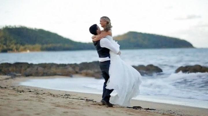Bryllup ble redningsaksjon