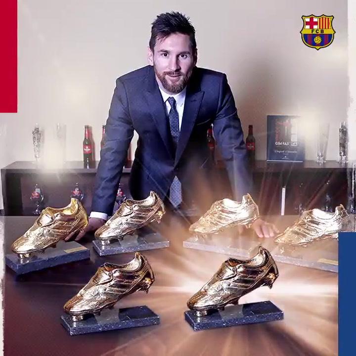 Messi consigue su sexta Bota de Oro