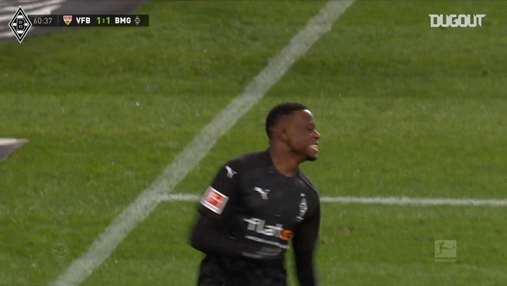 Zakaria's powerful run and finish vs Stuttgart