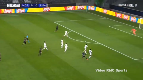 Borussia Mönchengladbach 2-2 Real Madrid (Champions League)