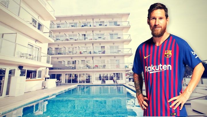 Así es el Hotel de Messi en Mallorca