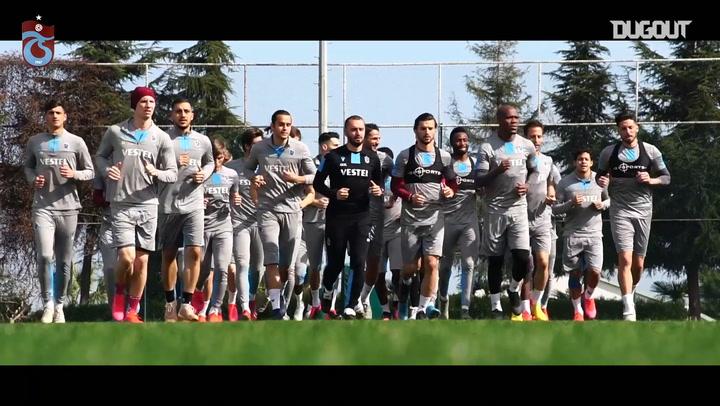 Trabzonspor Malatya Hazırlıklarını Tamamladı