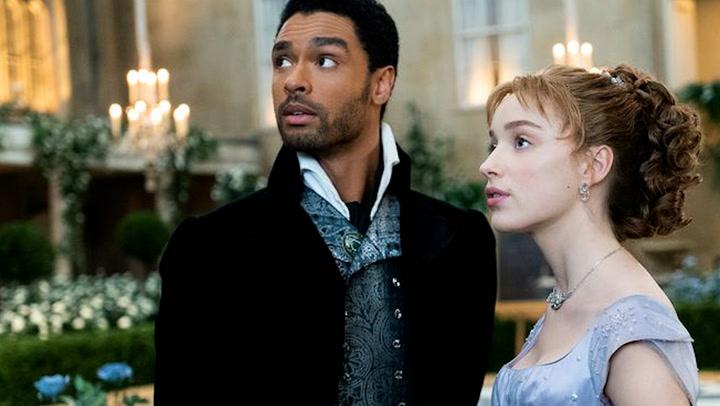 Una actriz de \'Los Bridgerton\' revela la trama que será... ¡como la vida de Harry y Meghan!