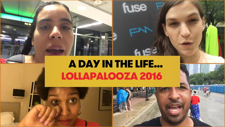 See What's It Like To Work At Lollapalooza 2016