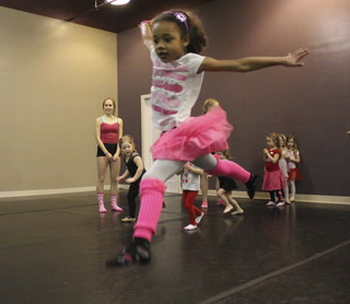 Kids show their love for dance at North Dakota Ballet Company party
