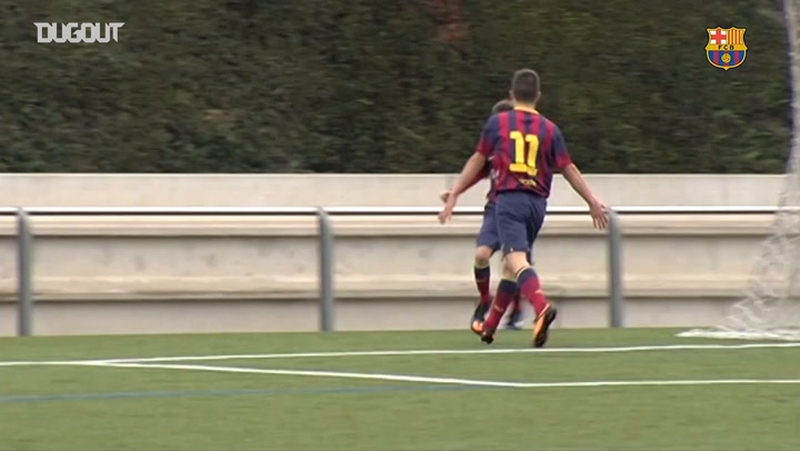 Riqui Puig's header in the U-16